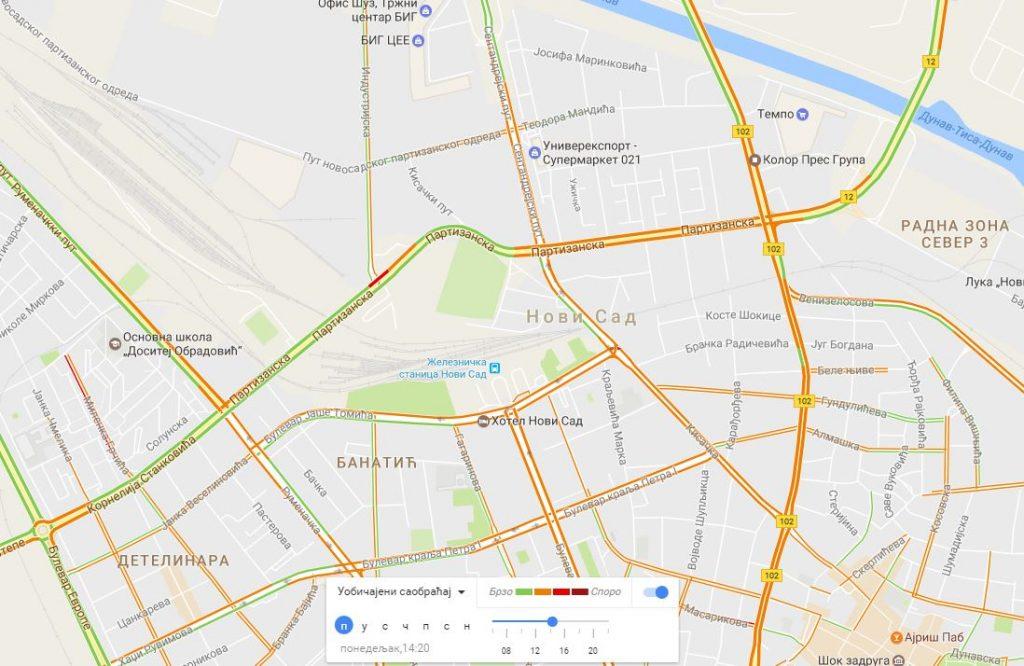 Video Kako Gugl Određuje Preopterecenost Puteva Na Gugl Mapama