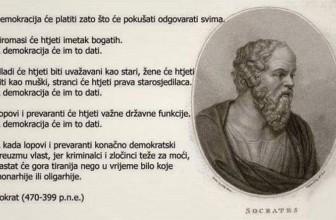 Sokrat o savremenom društvu i Srbiji