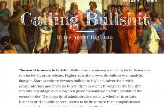Calling Bullshit – Program edukacije koji razotkriva gluposti u savremenom društvu