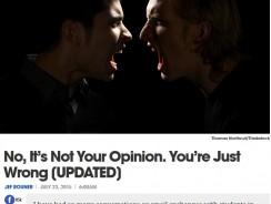 """Da li mišljenje može biti pogrešno? Kako su nastali """"anti-vakseri"""", """"ravnopločaši"""" i slični?"""