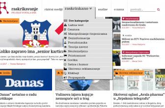 Raskrikavanje.rs protiv lažnih vesti i dezinformacija