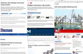 Zašto kasni izgradnja Žeželjevog mosta u Novom Sadu? Izgovori od 2011. do 2017. g.